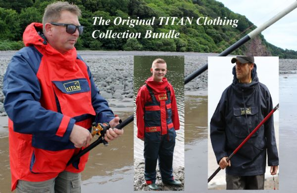 BRAND NEW TITAN ™ Original Clothing Collection BUNDLE SAVE £10